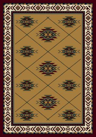 Shiba Topaz Garnet Signature Collection Area Rug