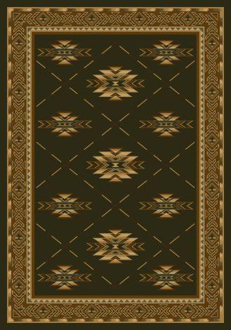 Shiba Olive Signature Collection Area Rug