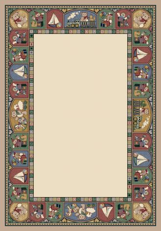 Toy Parade Pearl Mist Signature Collection Area Rug