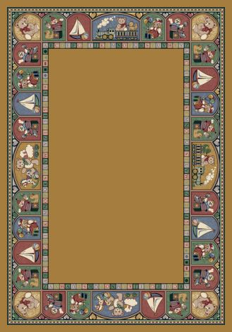 Toy Parade Golden Topaz Signature Collection Area Rug