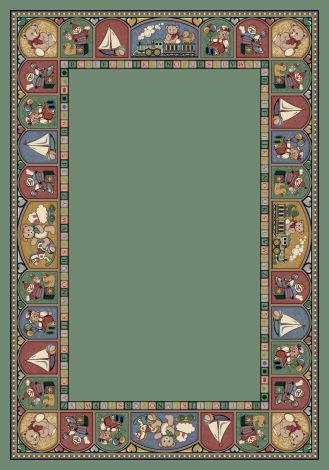 Toy Parade Peridot Signature Collection Area Rug