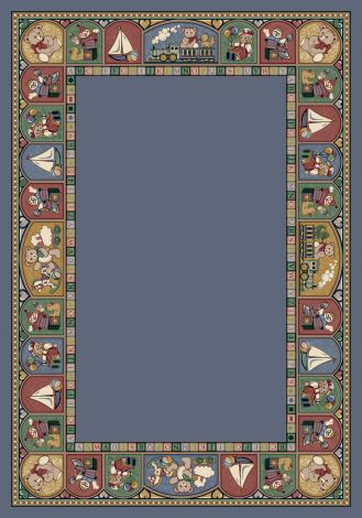 Toy Parade Lapis Signature Collection Area Rug
