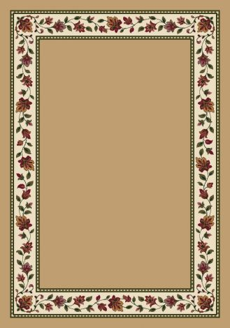 Symphony Wheat Solid Signature Collection Area Rug