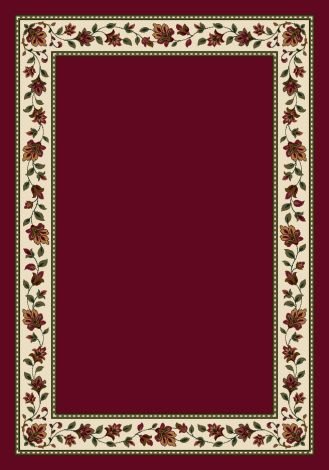 Symphony Brick Solid Signature Collection Area Rug
