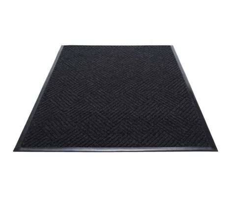 Waterguard Diamond Rubber Border Mat