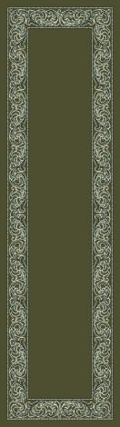 Sonata Deep Olive Modern Times Collection Area Rug