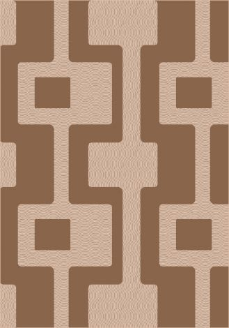 Uptown Sorrel Modern Times Collection Area Rug