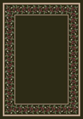 Wildberry Olive Milliken Design Center Collection Area Rug