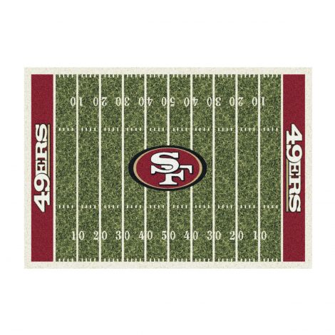 San Francisco 49ers Homefield NFL Rug