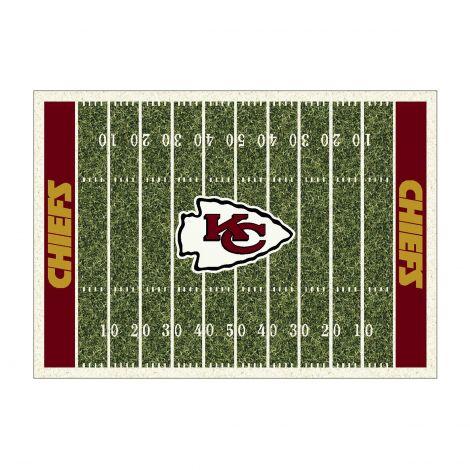 Kansas City Chiefs Homefield NFL Rug