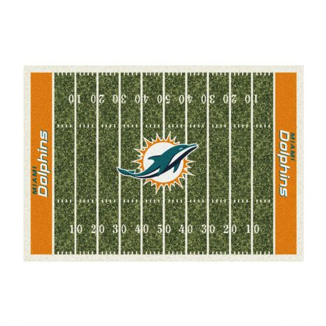 Miami Dolphins Homefield NFL Rug