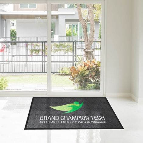 Computer Dyed Promotional Give-Away Door Mat