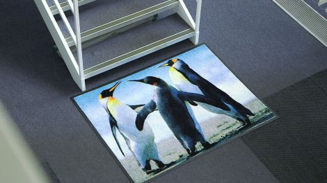 Photo Rubber Mat