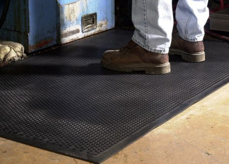 Plain All-Rubber Scraper Mat