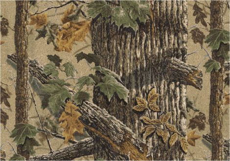 Extra Brown Realtree Collection Area Rug