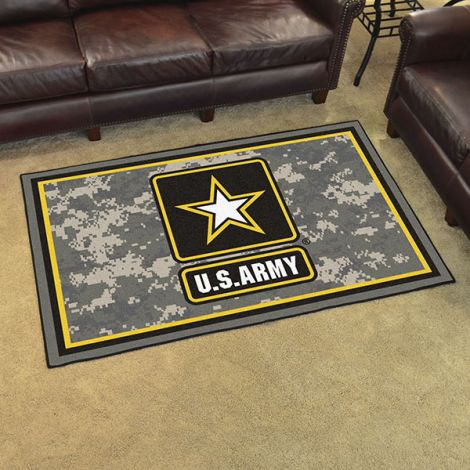 U.S. Army 4x6 Plush Rug