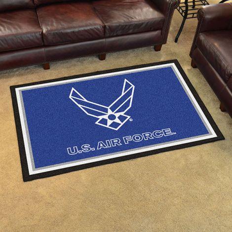 U.S. Air Force 4x6 Plush Rug