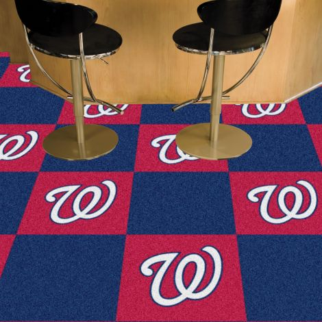 Washington Nationals MLB Team Carpet Tiles