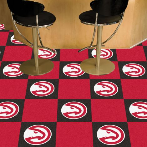 Atlanta Hawks NBA Team Carpet Tiles