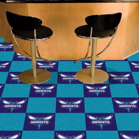 Charlotte Hornets NBA Team Carpet Tiles