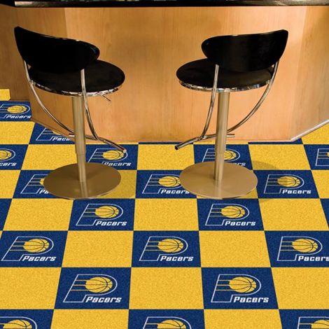 Indiana Pacers NBA Team Carpet Tiles