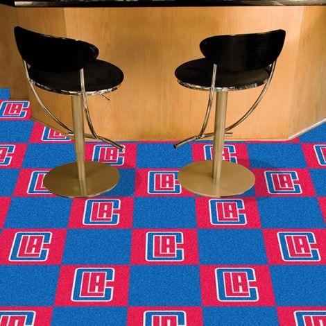 Los Angeles Clippers NBA Team Carpet Tiles