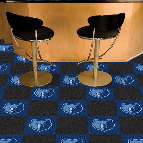 Memphis Grizzlies NBA Team Carpet Tiles