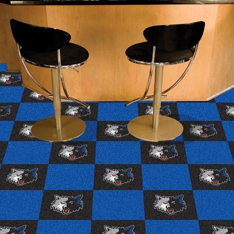 Minnesota Timberwolves NBA Team Carpet Tiles
