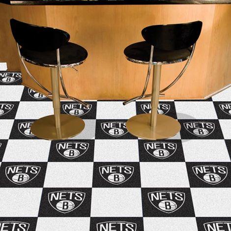 Brooklyn Nets NBA Team Carpet Tiles