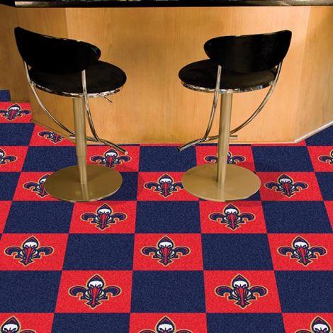 New Orleans Pelicans NBA Team Carpet Tiles