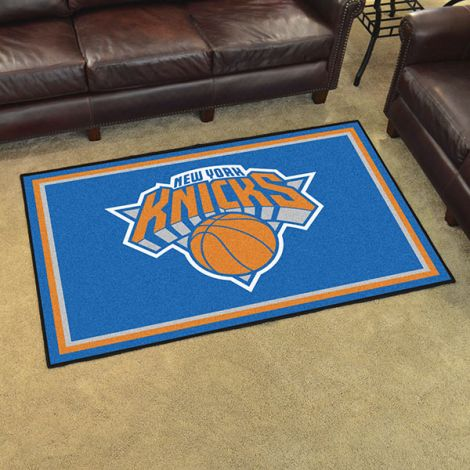 New York Knicks NBA 5x8 Plush Rug