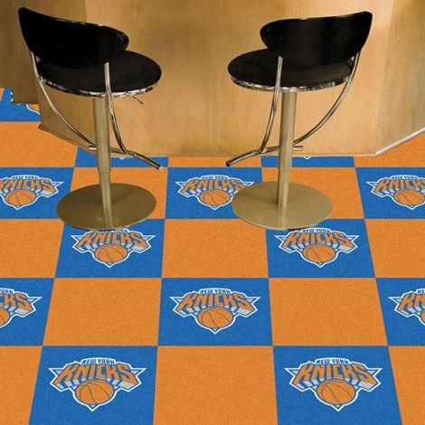 New York Knicks NBA Team Carpet Tiles
