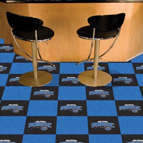 Orlando Magic NBA Team Carpet Tiles