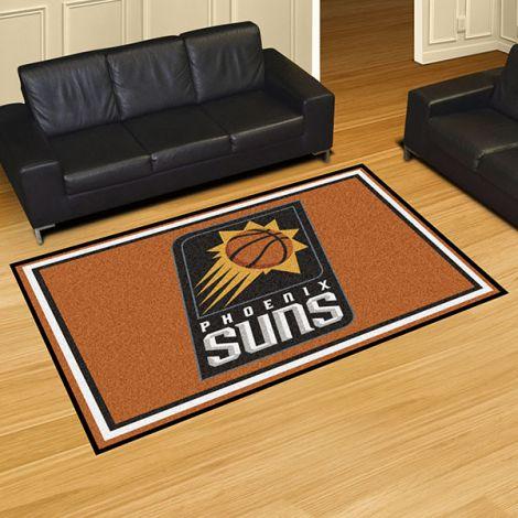 Phoenix Suns NBA 5x8 Plush Rug