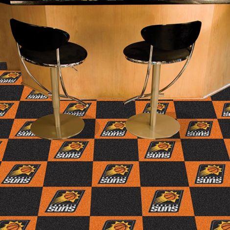 Phoenix Suns NBA Team Carpet Tiles