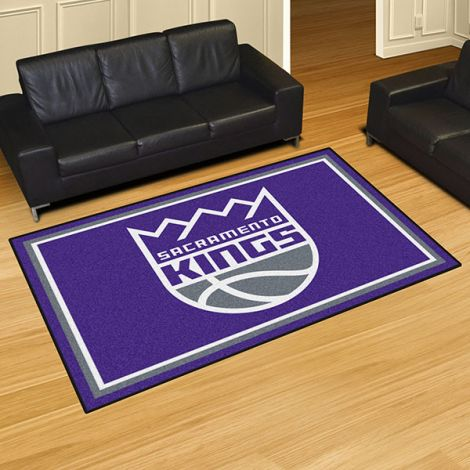 Sacramento Kings NBA 5x8 Plush Rug
