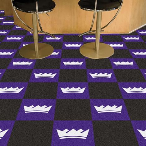 Sacramento Kings NBA Team Carpet Tiles