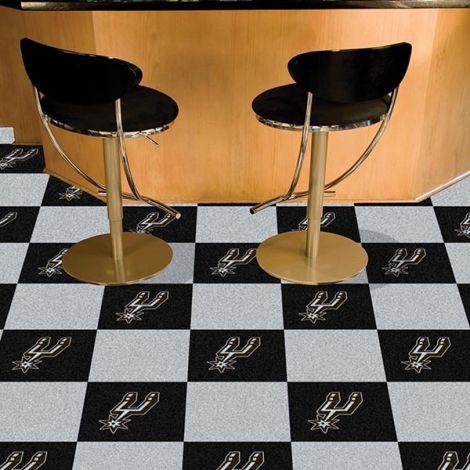 San Antonio Spurs NBA Team Carpet Tiles