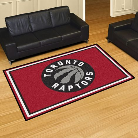Toronto Raptors NBA 5x8 Plush Rug