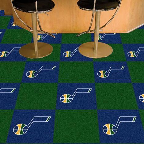 Utah Jazz NBA Team Carpet Tiles