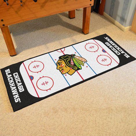 Chicago Blackhawks NHL Rink Runner