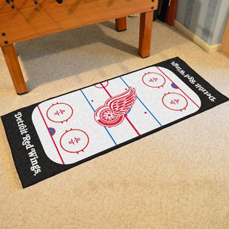 Detroit Red Wings NHL Rink Runner