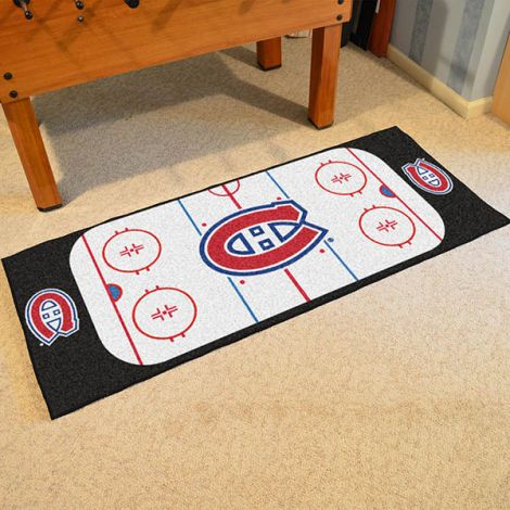Montreal Canadiens NHL Rink Runner