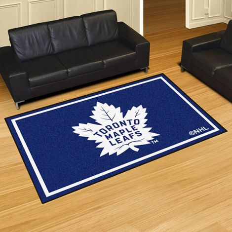 Toronto Maple Leafs NHL 5x8 Plush Rug