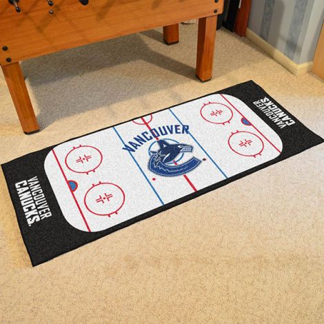 Vancouver Canucks NHL Rink Runner