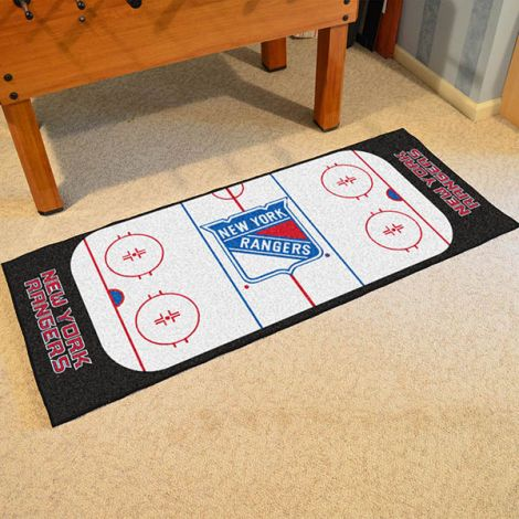 New York Rangers NHL Rink Runner