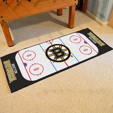Boston Bruins NHL Rink Runner