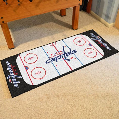 Washington Capitals NHL Rink Runner
