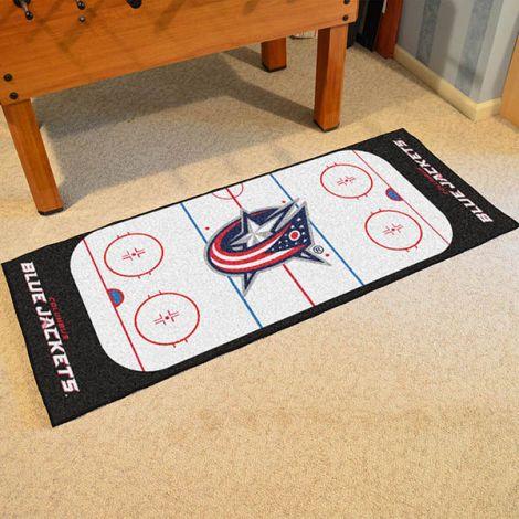 Columbus Blue Jackets NHL Rink Runner