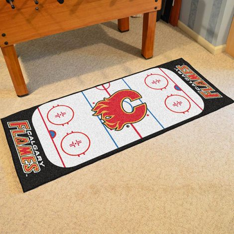 Calgary Flames NHL Rink Runner